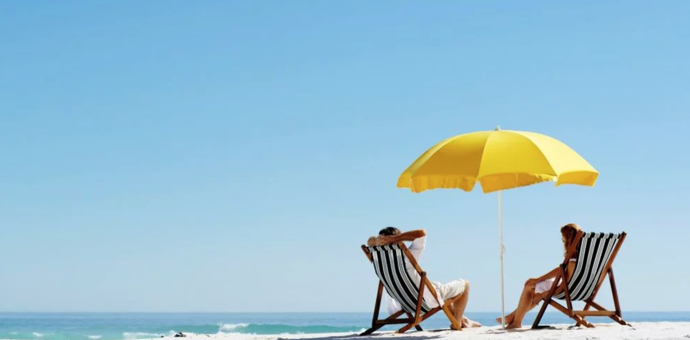 No beach umbrella? No problem! They're Easy to Rent in Myrtle Beach