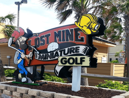 Lost Mine Miniature Golf