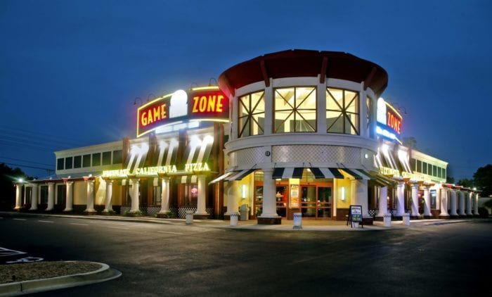 Ultimate California Pizza Game Zone